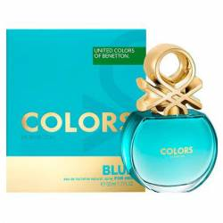 Bnt Colors Blue Fem Edition Benetton x 50 cc.