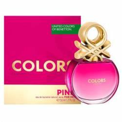 Bnt Colors Pink Fem Edition Benetton x 50 cc.