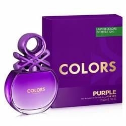 Bnt Colors Purple Fem Edition Benetton x 50 cc.