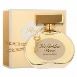 Ab Her Golden Secret Edition Antonio Bandera x 80 cc.