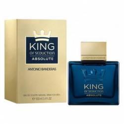 Ab King Of Seduction Absolute Edition Antonio Bandera x 100 cc.