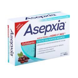 Jabón de Tocador Exfoliante Hf Asepxia x 100 g.