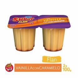 Flan Vainilla c/Caramelo Shimy x 2 un. 200 g.