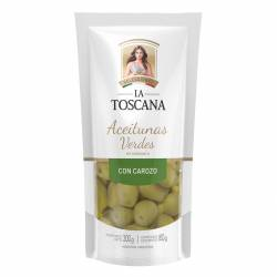 Aceitunas Verdes con Carozo Doy Pack La Toscana x 160 g.