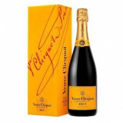 Vino Espumante Brut Yellow Label Est. Veuve Clicquot x 750 cc.