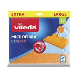 Paño Pisos Microfibra Colors Vileda x 1 un.