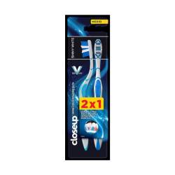 Cepillo Dental Medio Shiny White2X1 Close Up x 2 un.