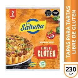Tapas para Pascualina Libre de Gluten La Salteña x 380 g.
