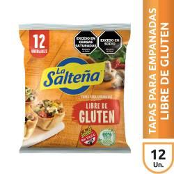Tapas para Empanadas Libre de Gluten La Salteña x 330 g.