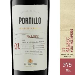 Vino Tinto Malbec Portillo x 375 cc.