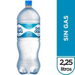 Agua Mineral s/Gas Bonaqua x 2,25 Lt.