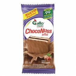 Oblea Dulce de Arroz sabor Nougat Choconuss x 20 g.