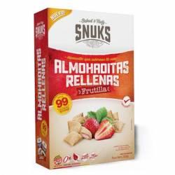 Almohaditas Rellenas sabor Frutilla Snuks x 50 g.
