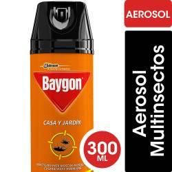 Insecticida Aerosol Casa y Jardín Baygon x 300 cc.