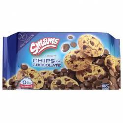 Galletitas c/Chips de Chocolate s/T Smams x 180 g.