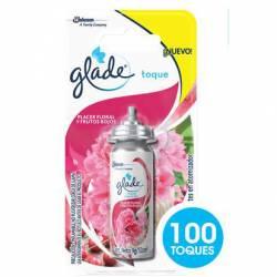 Aromatizante Ambiente Repuesto Toque P.Floral Glade x 12 cc.