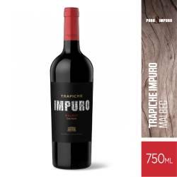 Vino Tinto Malbec + Malbec Impuro Trapiche x 750 cc.