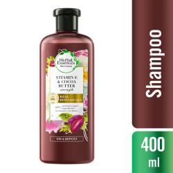 Shampoo Strength Vitamina E Cocea Renew Herbal Essences x 400 cc.
