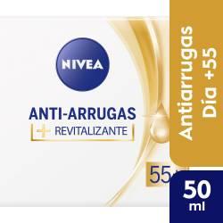 Crema Facial Día Revitalizante +55 Nivea x 50 cc.