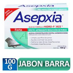 Jabón Tocador Prev. Granitos Forte Asepxia x 100 g.