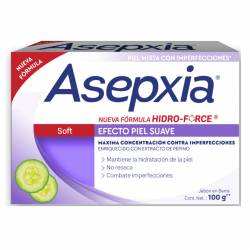 Jabón Tocador Previene Granitos Soft Asepxia x 100 g.