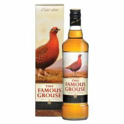 Whisky c/Estuche Famous Grouse x 1 Lt.
