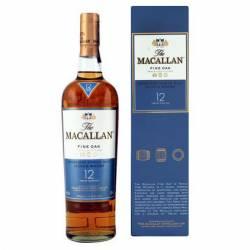 Whisky 12 Años c/Estuche The Macallan x 700 cc.