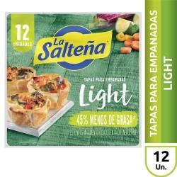 Tapas Empanadas Light La Salteña x 12 un. 330 g.