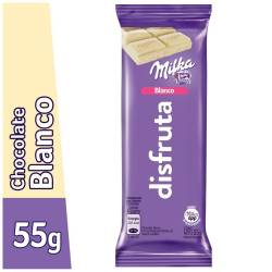 Chocolate Blanco Milka x 55 g.