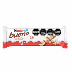 Oblea Rellena c/ Avellana Blanco Kinder Bueno x 39 g.