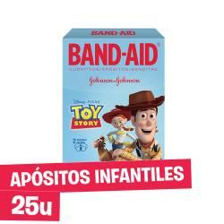 Apósito Infantil Toy Story Band-Aid x 25 un.