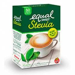 Endulzante Sobres Stevia Equalsweet x 50 un.