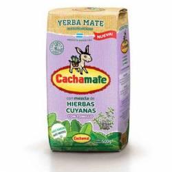 Yerba Mate Mezcla Hierbas Cuyana Cachamate x 500 g.