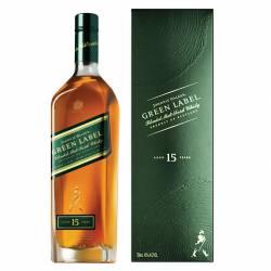 Whisky Green Label Johnnie Walker x 750 cc.