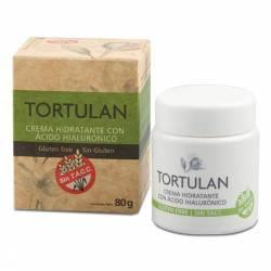Crema Hidratante c/Acido Hialurónico s/Tacc Tortulan x 80 cc.