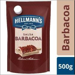 Salsa Barbacoa Doy Pack Hellmanns x 500 g.