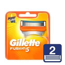 Cartucho Afeitar Fusión 5 Gillette x 2 un.