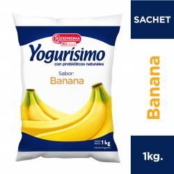 Yogur Bebible Banana Sachet Yogurisimo x 1 Kg.