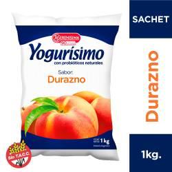 Yogur Bebible Durazno Sachet Yogurisimo x 1 Kg.