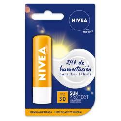 Protector Labial Solar FPS 30 Nivea x 4 g.