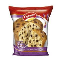 Pan Dulce c/Chips Gaona x 500 g.