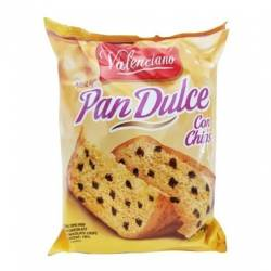 Pan Dulce c/Chips Valenciano x 400 g.