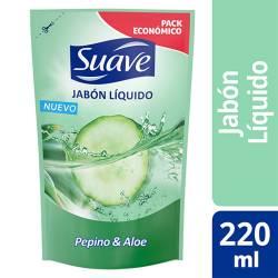 Jabón Líquido Manos Pepino y Aloe Suave x 220 g.