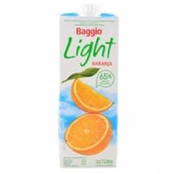 Jugo Natural s/ Azúcar agregada Naranja Baggio Pronto x 1 Lt.