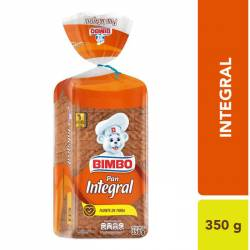 Pan Integral Bimbo x 350 g.