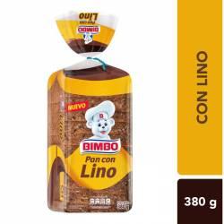 Pan con Lino Bimbo x 350 g.