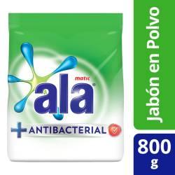 Jabón Polvo Be Antibacterial Ala Matic x 800 g.