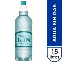 Agua Mineral s/Gas Kin x 1,5 Lt.