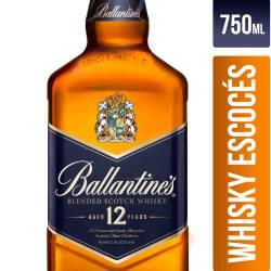 Whisky Scotch Blended Ballantines x 750 cc.
