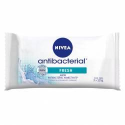 Jabón Tocador Antibacterial Fresh Nivea x 3 un.
